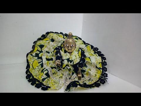 Summer Dress For Laddu Gopal Round Design | CraftLas