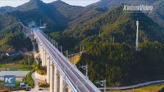"High-speed railway boosts tourism in China's ""most beautiful countryside"""