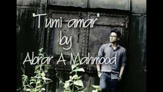 Tumi Amar- Piran Khan Feat. Abrar A Mahmood