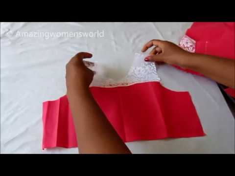 Simple A line Frock Stitching - Very Easy Step by Step - Complete Tutorial