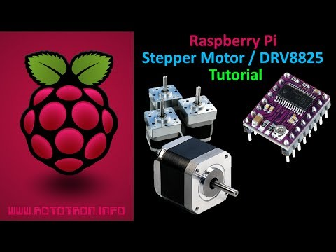 Raspberry Pi Stepper Motor Tutorial