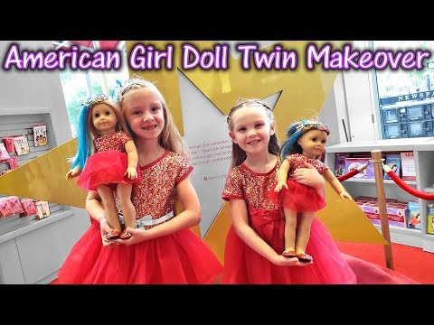 Xxx Mp4 Turning Ourselves Into Dolls American Girl Doll Twin Makeover 3gp Sex