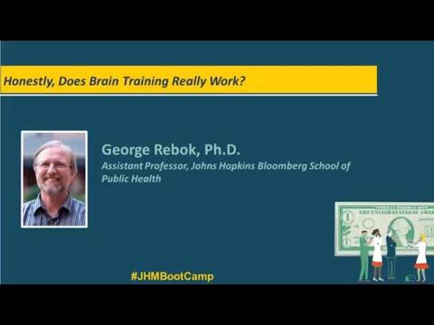 Honestly, Does Brain Training Really Work? | George Rebok, Ph.D.
