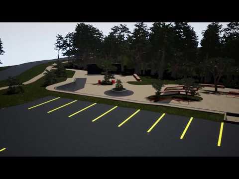 Skatepark Design for Village of Milford, Michigan