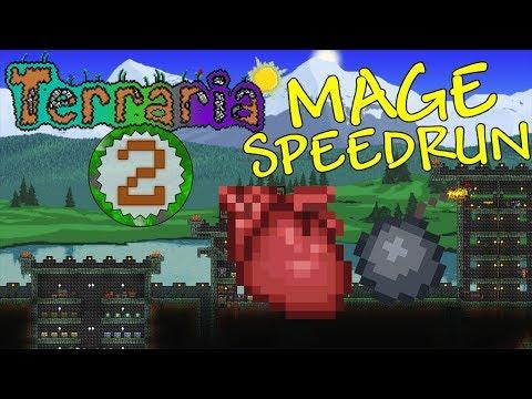 Terraria: Mage Speedrun Part 2 - PHASE 1