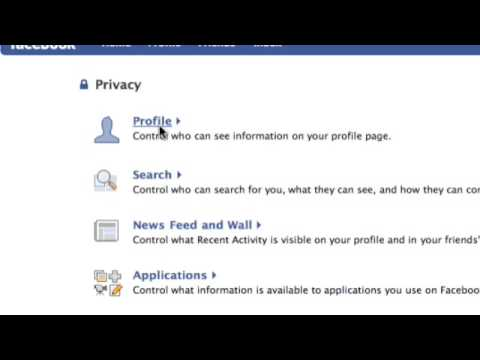 Facebook tips: Friends list & Privacy settings