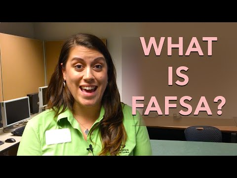 What is FAFSA? How to fill out fill out the FAFSA form