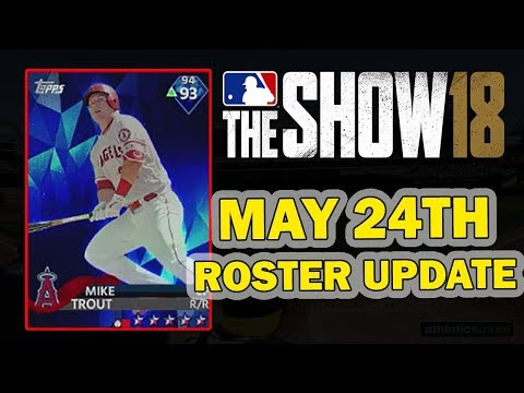 MAY 24th ROSTER UPDATE | MLB 18 DIAMOND DYNASTY
