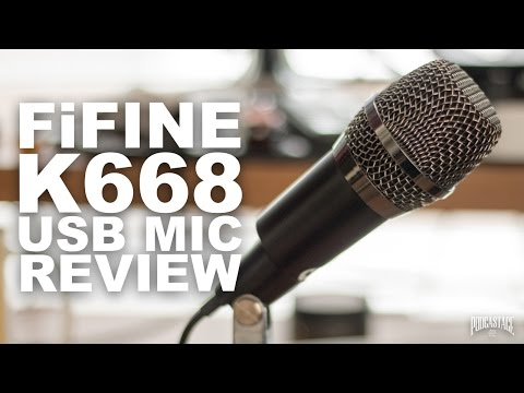 Fifine K668 USB Microphone Review / Test