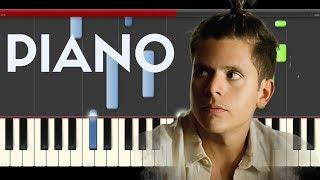 Rudy Mancuso & Poo Bear  Black & White Piano Midi tutorial Sheet app Cover Karaoke
