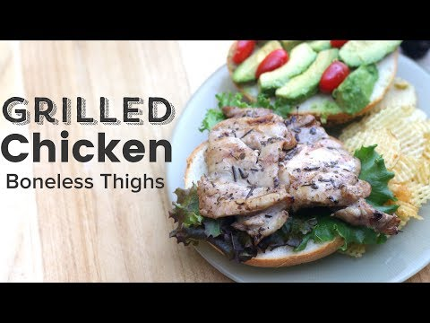 How To Grill Skinless Boneless Chicken Thighs
