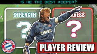 Oliver Kahn • Player review and gameplay   Best GK in Pes?
