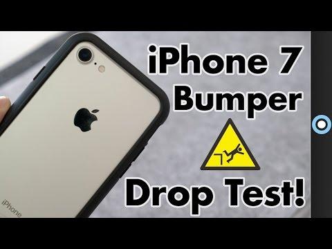 iPhone 7 Bumper Case Review & Drop Test!