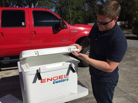 Engel Coolers Deep Blue Review, Five Day Ice Challenge Results, Engel Vs Yeti Coolers