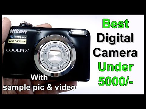 Nikon A10 point & shoot camera unboxing with sample picture