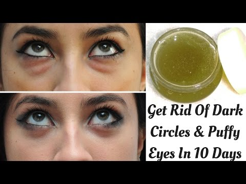 Homemade Under Eye Cream To Get Rid Of Dark Circles And Puffy Eyes In Just 10 Days