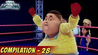 Vir: The Robot Boy   Cartoon For Kids   Compilation 28   Hindi Cartoons for Kids   WowKidz Action