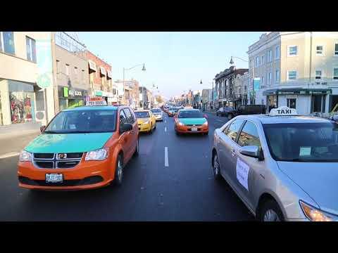 Toronto taxi drivers rage over Uber