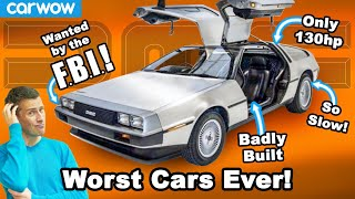 The 10 worst cars of all time!