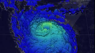 NASA Sees Powerful Storms and Heavy Rain in Hurricane Ophelia