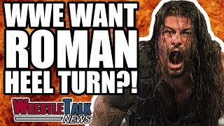Vince McMahon UNHAPPY With Roman Reigns Reaction! WWE Want HEEL TURN?! WrestleTalk News May 2018