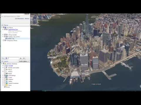 Producing Google Earth Movies