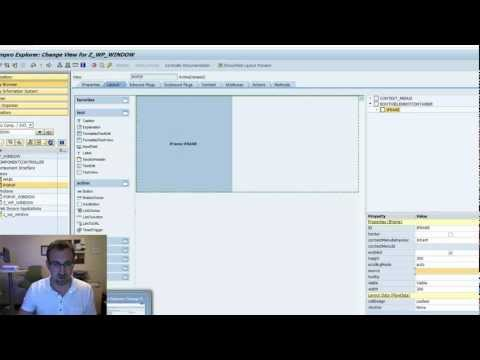 WebDynpro ABAP iFrame Element: SAP Tutorial (Part 7)