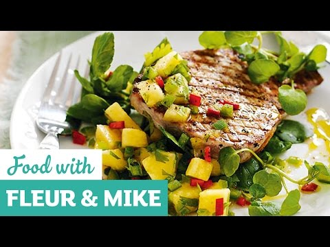 Tuna Steak With Spicy Salsa | Fleur & Mike