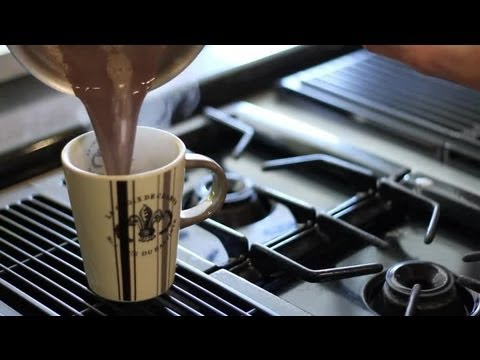 Hot Chocolate Using Sweetened Condensed Milk : Cooking With Chocolate