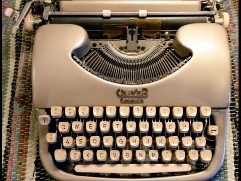 Oliver Courier Typewriter Platen Refresh