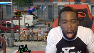 Dunk From The 3 Point Line! How?! First Ever Pack Opening NBA Playground Gameplay!