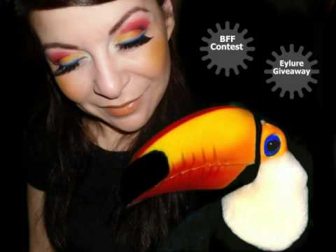 **happy news** on BFF Contest & Toucan Inspired makeup