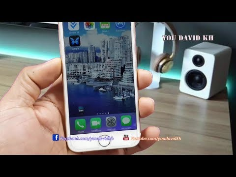 How to Style Dock & Wallpapers iPhone No Jailbreak