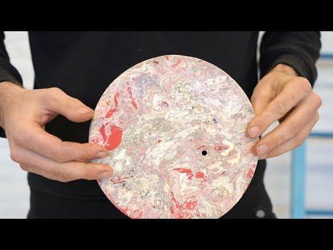 Create marble from plastic bags #preciousplastic