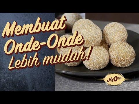 MyOne with Chef Lucky : Onde-onde (MyOne Sesame Ball with Mung Bean)