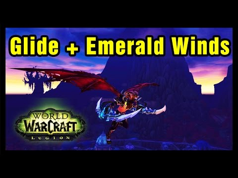 How to Fly in WoW Legion Demon Hunter