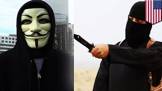Anonymous fights IS: hacker groups release 9,200 twitter accounts linked to Islamic State terrorists