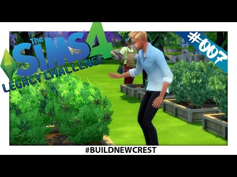 The Sims 4 Legacy Challenge | #BuildNewcrest | Ep.7 - Expanding The Garden!
