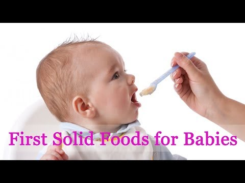 First Solid Food for Babies