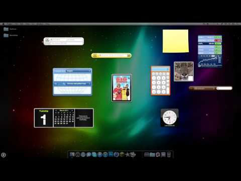 How To Put Widgets On Your Desktop Mac