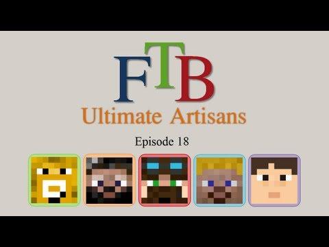 FTB Ultimate Artisans - Episode 18 - Better Barrels