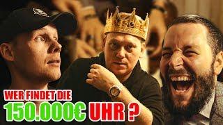 Escape Room mit Knossi und UnsympathischTV: Wer findet die 150.000€ Uhr?