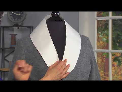 Make a removable faux fur collar on It's Sew Easy with Joanne Banko (1509-1)