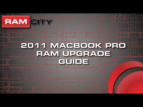 How to Upgrade the RAM in a MacBook Pro 2011