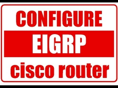 EIGRP Configuration in cisco packet tracer