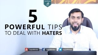5 Powerful Tips To Deal With Haters - Muiz Bukhary