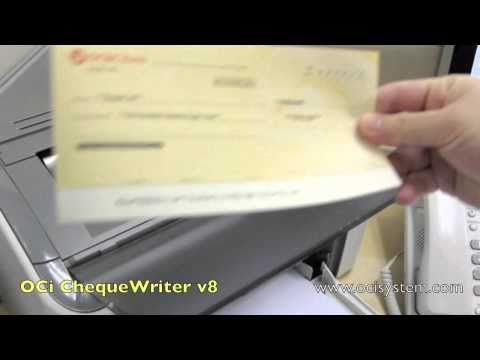 3 Seconds to print a Cheque!