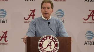 Nick Saban: Three early departures for the NFL draft
