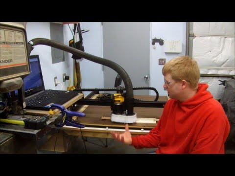 X Carve CNC Dust Collection Boot