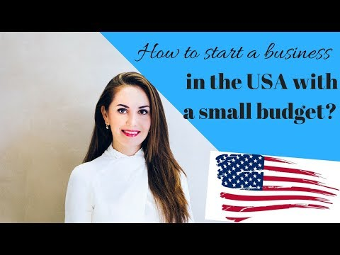 How to start a business in the US as a foreigner with a small budget✔️🇺🇸